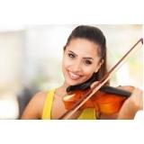 primeira aula de violino