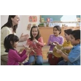 aula musicalização infantil valor Santa Cecília