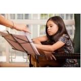 aula para iniciante de violão valor Praça da Arvore