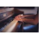 aula particular de piano orçar Santo Amaro