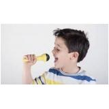 aulas de canto para crianças Cerqueira César