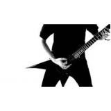 aulas de guitarra heavy metal Santana