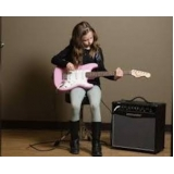 aulas de guitarra para iniciantes Santo Amaro