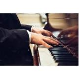aulas de piano avançado Aeroporto