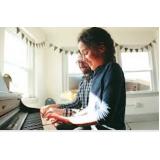 aulas de piano iniciante Santana