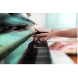 aulas de piano intermediário Centro