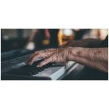 aulas de piano jazz Santo Amaro