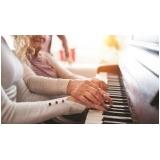 aulas de piano para iniciantes Bom Retiro