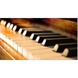aulas de piano particulares Santo Amaro