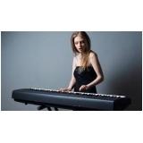 aulas de teclado iniciante Santa Cecília