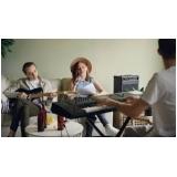 aulas de teclado musical Anália Franco