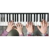 aulas de teclado para crianças Pompéia