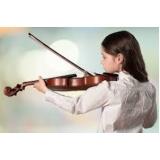 aulas de violino para crianças Vila Romana