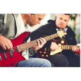 aulas particulares de guitarra Santo Amaro