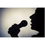 contratar professor de canto avançado Santa Cecília