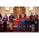 contratar professor de canto para coral Consolação