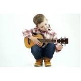 escola de aula de violão para crianças Pacaembu