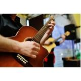 escola de aula de violão para iniciantes Santo Amaro