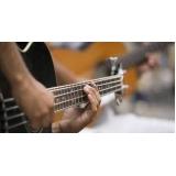 escola de aula de violão particular Água Branca