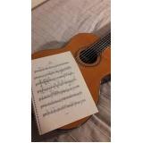 escola de aula de violão teórica Barra Funda