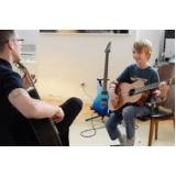 escola de aula particular de violão Consolação