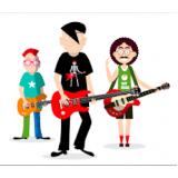 escola de musica com aula de canto