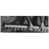 escola de musica com aula de piano
