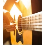 escola para aula de violão dedilhado Bom Retiro