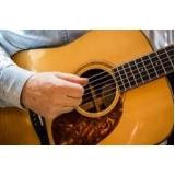 escola para aula de violão iniciante Jardim Paulistano