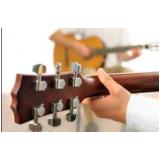 escola para aula de violão passo a passo Chácara Inglesa