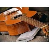 escola para aula de violão teórica Vila Albertina