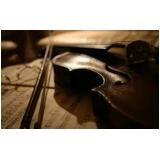 escola que faz aula de violino coletiva Freguesia do Ó