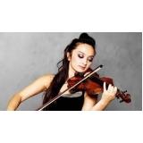 escola que faz aula de violino profissional Parque Maria Domitila