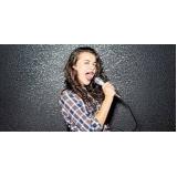 escolas de musica e canto Chácara Inglesa
