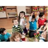Aula de Musicalização para Educação Infantil