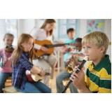 aula de musicalização