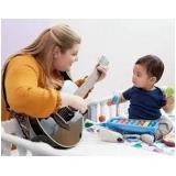 musicalização infantil valor Campo Grande