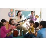 onde faz aula de musicalização para educação infantil Aeroporto