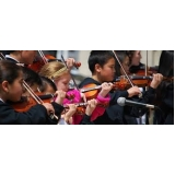 onde faz aula de violino coletiva Aeroporto