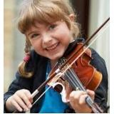 onde faz aula de violino para crianças São Domingos