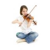 onde faz aula de violino para iniciante Santo Amaro