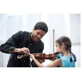 onde faz aula de violino particular Aclimação