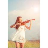 onde faz aula de violino passo a passo Vila Albertina