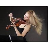 onde faz aula de violino profissional Cerqueira César