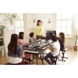onde fazer aula de teclado particular Interlagos