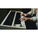 onde fazer aula de teclado teórica Água Branca