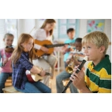 onde tem aula de musicalização infantil Pari