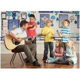 onde tem aula musicalização infantil Jardins
