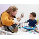 onde tem professor de musicalização infantil Parque Dom Pedro