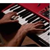 preço de aula de piano intermediário Água Branca